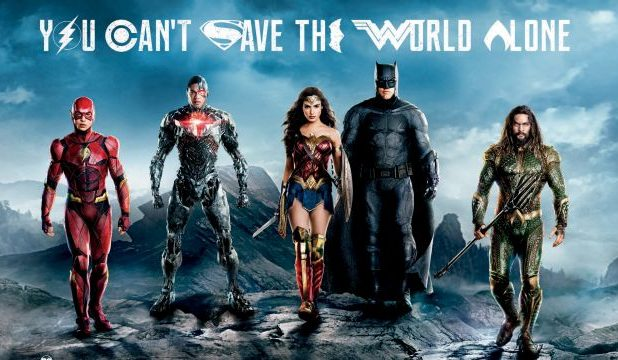 Justice League to Take Over Times Square in New York City