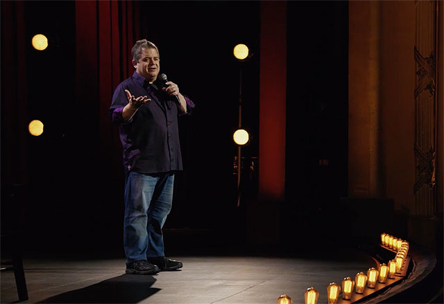 Trailer for the New Patton Oswalt Netflix Special Annihilation