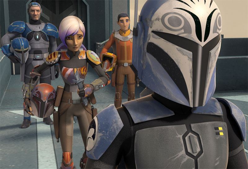 Star Wars Rebels Heroes of Mandalore Images & Series Recap Video!