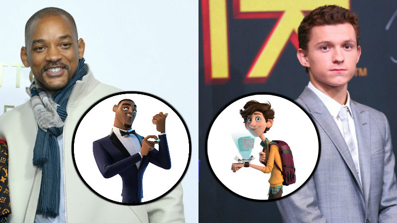Will Smith and Tom Holland Join Animated Film Spies in Disguise