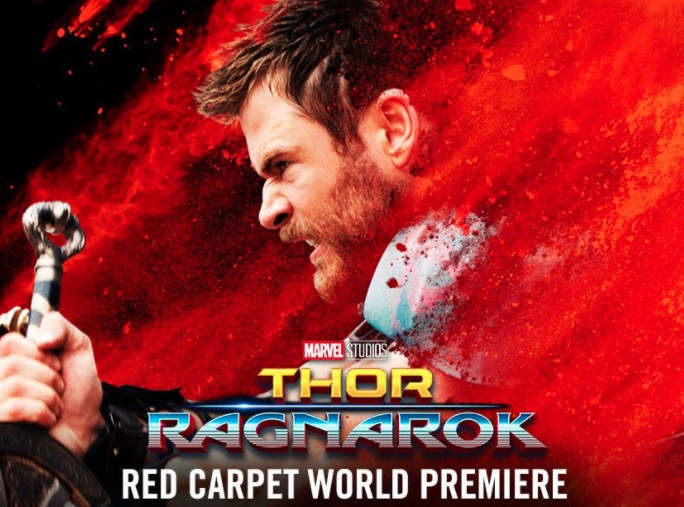 Watch the Thor: Ragnarok Red Carpet World Premiere Live Stream