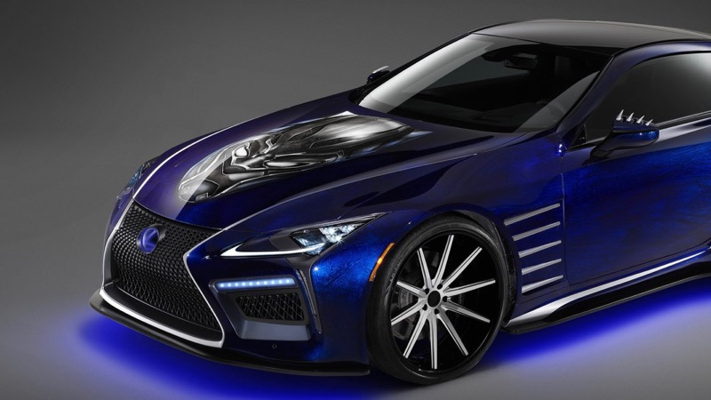 Lexus unveils Black Panther inspired cars for 2018