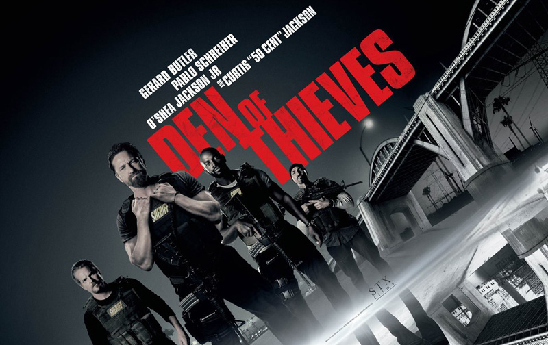 Den of Thieves Trailer: Gerard Butler Squares Off Against 50 Cent