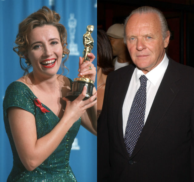 Emma Thompson and Anthony Hopkins board the BBC's King Lear