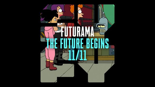 Futurama is Coming to Syfy on November 11