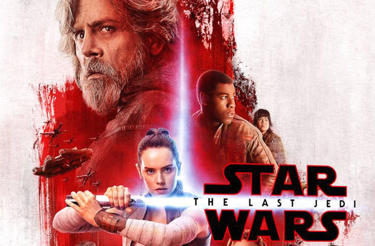 Star Wars: The Last Jedi IMAX Display Seemingly Has One Character on Both Sides