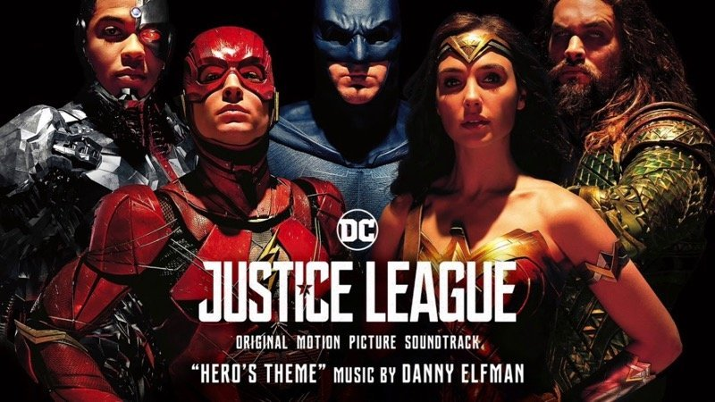 Hear Danny Elfman's Hero's Theme from the Justice League Soundtrack!