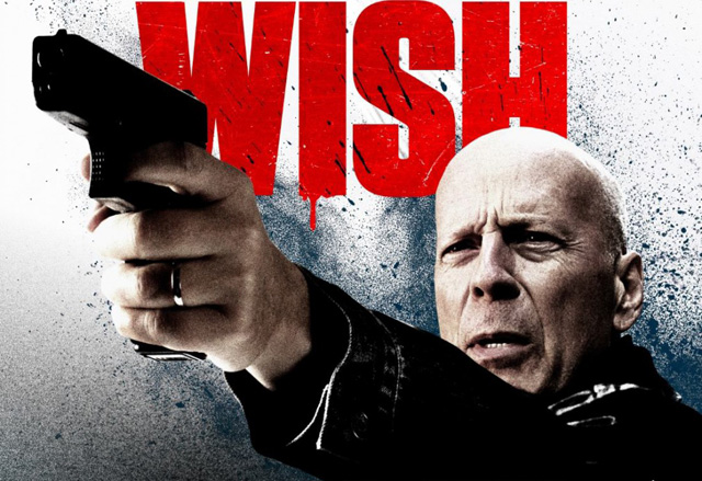Bruce Willis in the New International Death Wish Poster