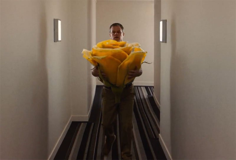 A Hairless Matt Damon Gets a Big Shock in Latest 'Downsizing' Trailer