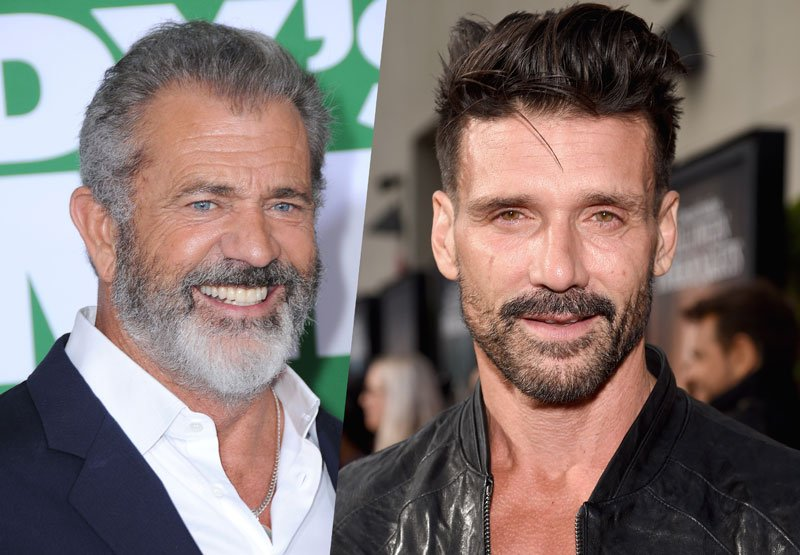 Mel Gibson and Frank G...