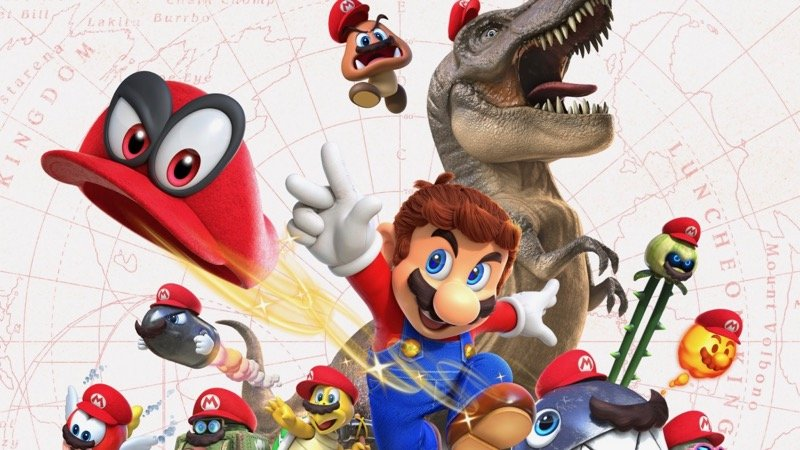 Super Mario Odyssey Now the Fastest Selling Mario Game in the United States