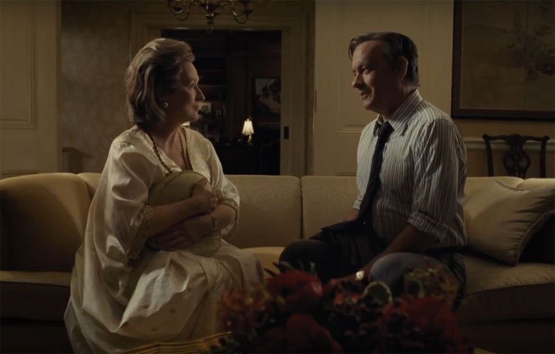 Extended The Post TV Spot with Tom Hanks and Meryl Streep