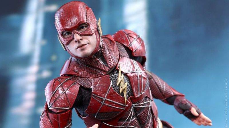 Justice League Flash Hot Toy Arrives from the Speed Force