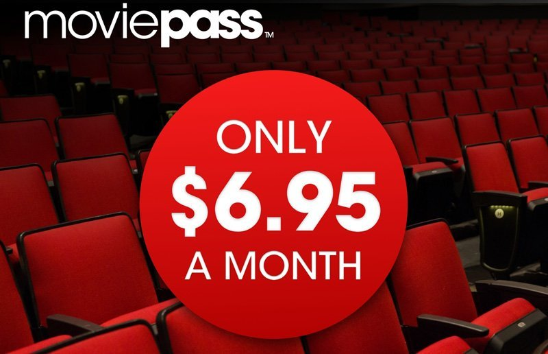 MoviePass launches one-year subscription plan for $6.95 a month