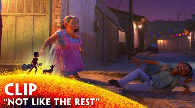 Miguel is Not Like the Rest of His Family in a New Coco Clip