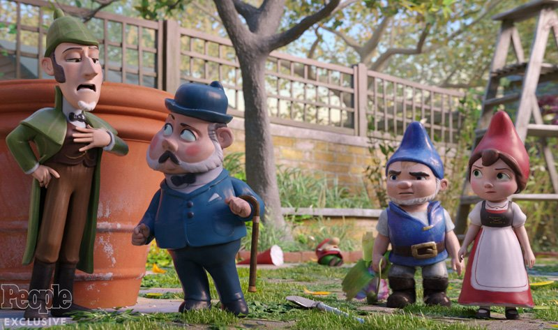 Sherlock Gnomes Trailer: Johnny Depp Headlines Gnomeo & Juliet Sequel