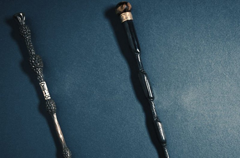 Magic in progress tease for the fantastic beasts sequel for Dumbledore first wand