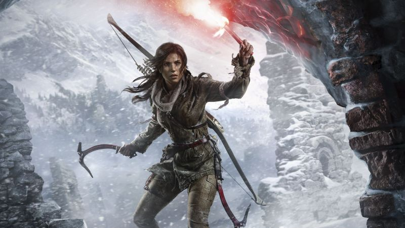 Square Enix Officially Announces Third Tomb Raider Game