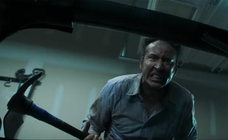 Cage Brings The Rage To The MOM AND DAD Trailer