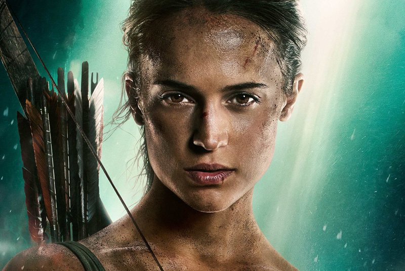 The New Tomb Raider Poster Featuring Alicia Vikander