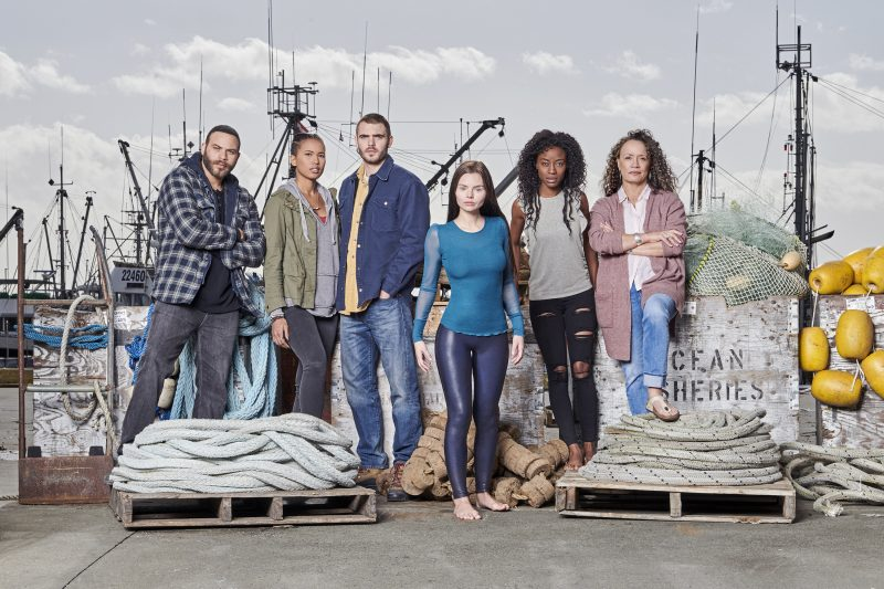 Check out a new teaser and a cast photo from Freeform's upcoming mermaid series Siren