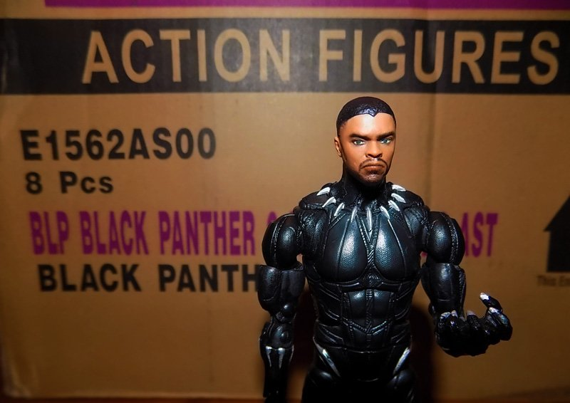 Hasbro Black Panther Marvel Legends Unboxing Gallery