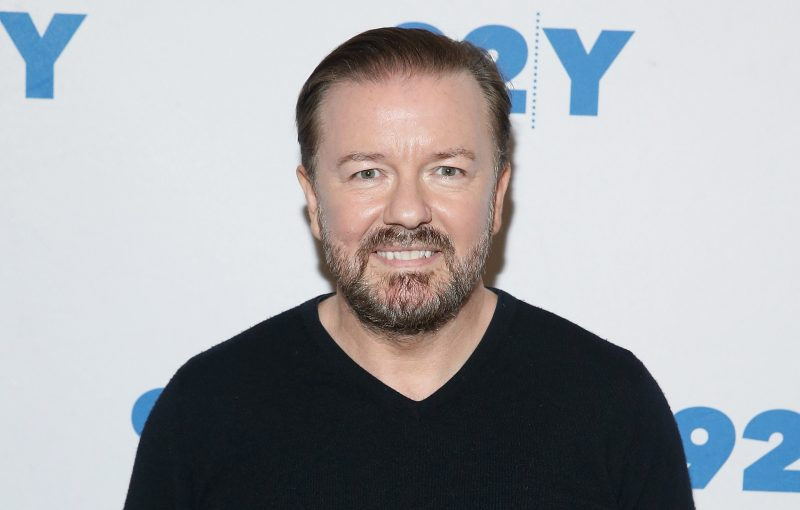 In addition to Humanity, Ricky Gervais has sold Netflix a new comedy special