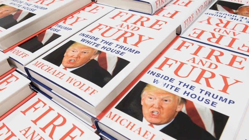 Fire and Fury Book Set for TV Series Adaptation