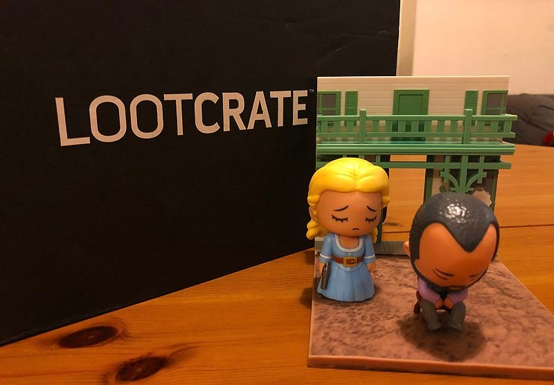 January 2018 Loot Crate Unboxing With Westworld Amp More