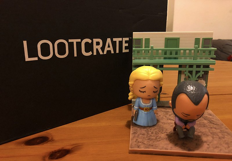 January 2018 Loot Crate Unboxing With Westworld & More!