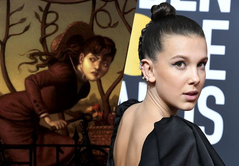 Millie Bobby Brown cast as Sherlock's sister Enola Holmes in film series