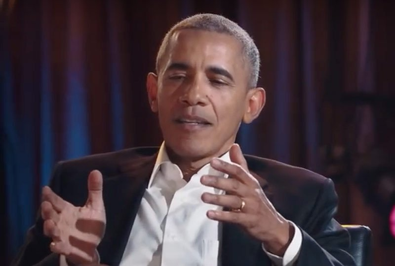Watch a Clip of David Letterman Interviewing President Obama