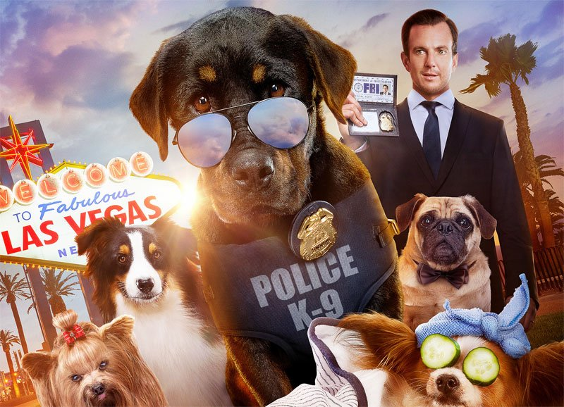 Show Dogs Trailer and Poster With Will Arnett