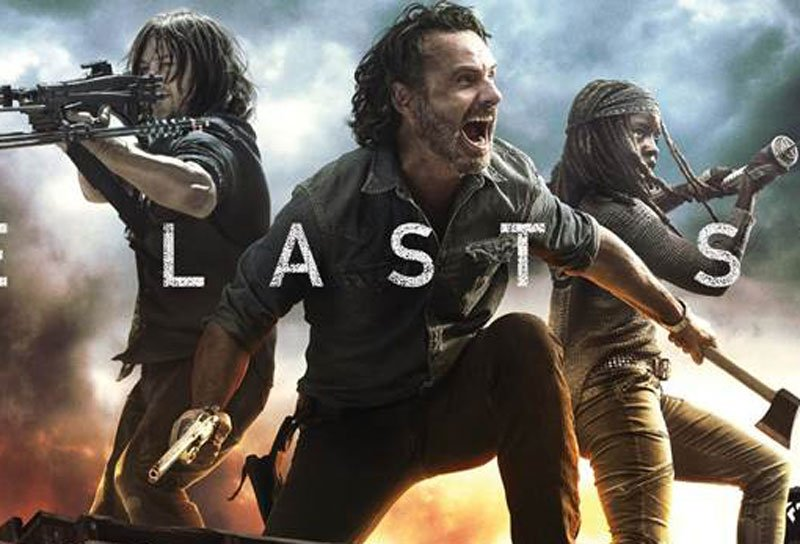 Walking Dead Season 8 Part 2 Key Art Shows a Last Stand