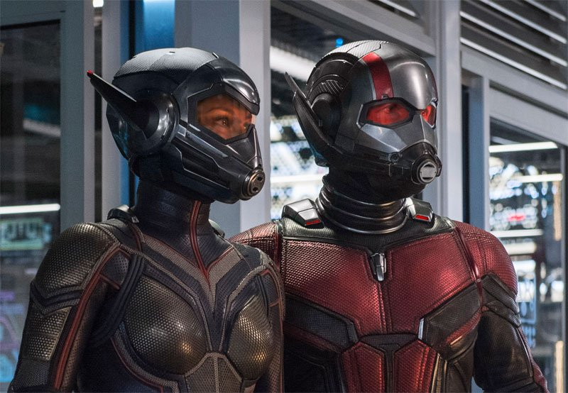 2018 Comic Book Movies: Ant-Man and The Wasp opens on July 6
