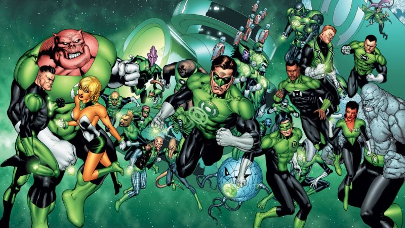 Green Lantern Corps Movie Still in Development After DC Shake-Up