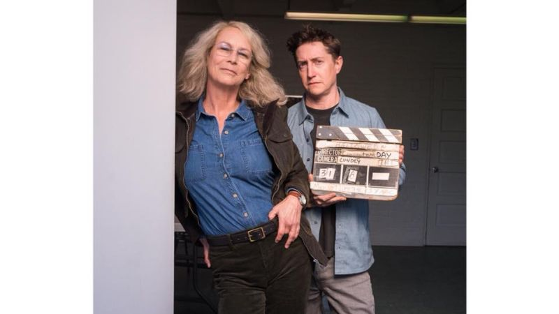 Jamie Lee Curtis Shares Photo from Set of New Halloween
