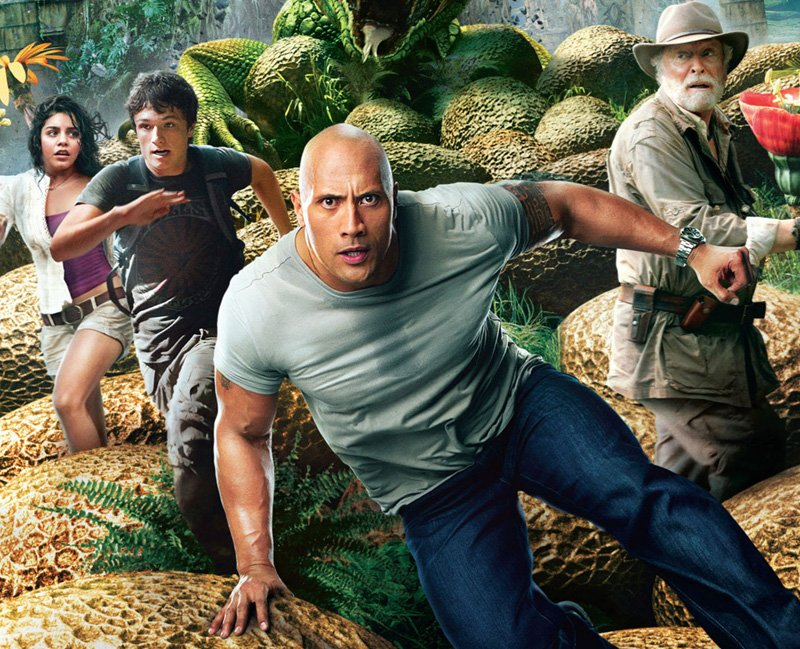 """Dwayne """"The Rock"""" Johnson in Journey 3: From the Earth to the Moon"""