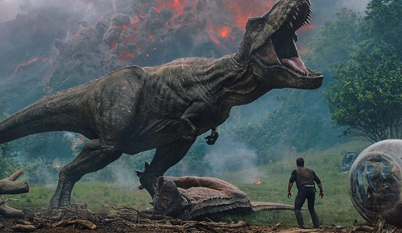 Fallen Kingdom's Super Bowl trailer puts dinosaurs in all the wrong places