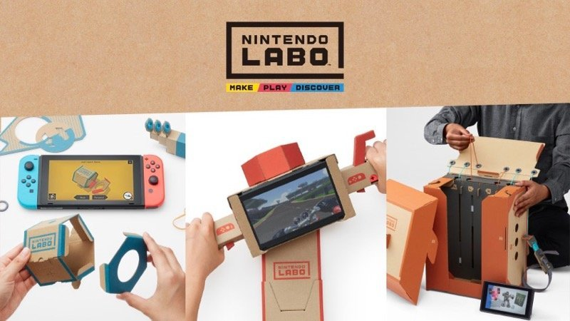 First Look at Nintendo Labo, A Build and Play Interactive Experience for the Switch