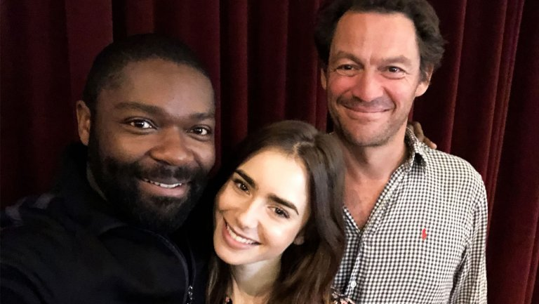 David Oyelowo, Lily Collins and Dominic West to star in the BBC's David Oyelowo, Dominic West, Lily Collins Cast in BBC's Les Misérables miniseries