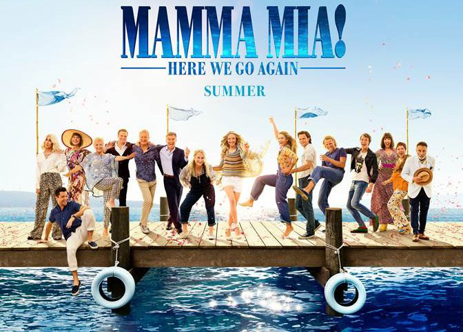 Watch the New Mamma Mia! Here We Go Again Spot from the Grammys