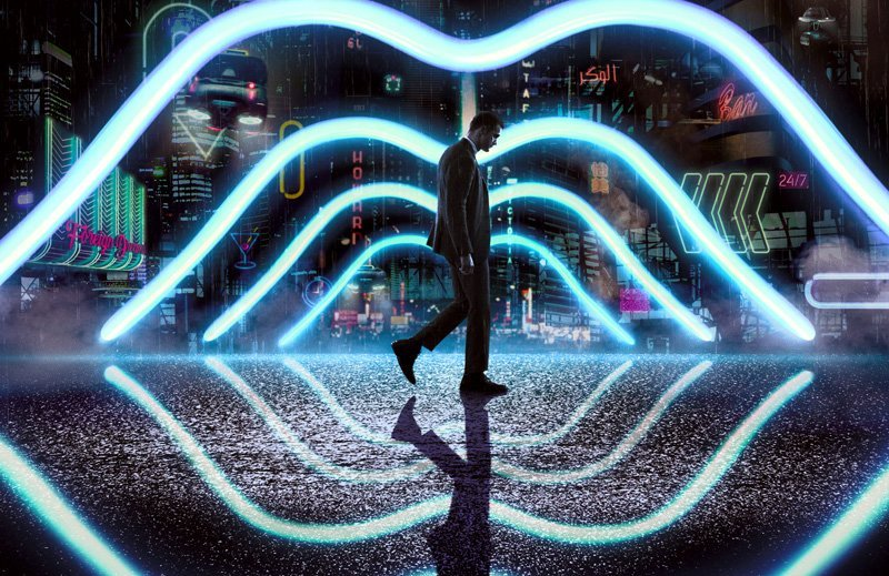 First poster and trailer for Duncan Jones' Mute