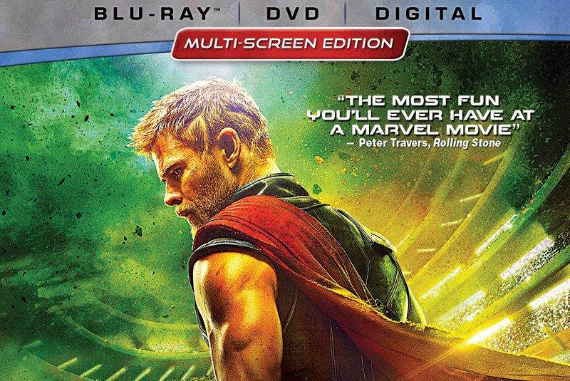 Thor Ragnarok Digital HD Blu-ray and DVD Announced