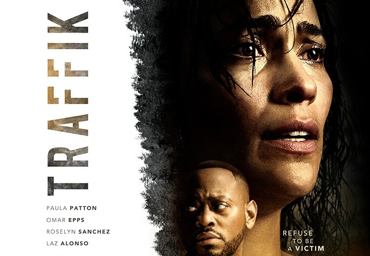 Paula Patton and Omar Epps in the Traffik Trailer and Poster