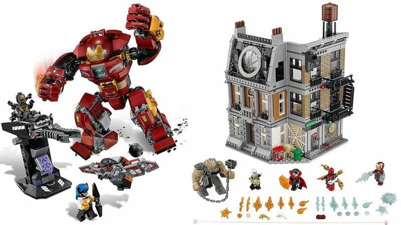Avengers: Infinity War LEGO Sets Offer Plot Details for Film