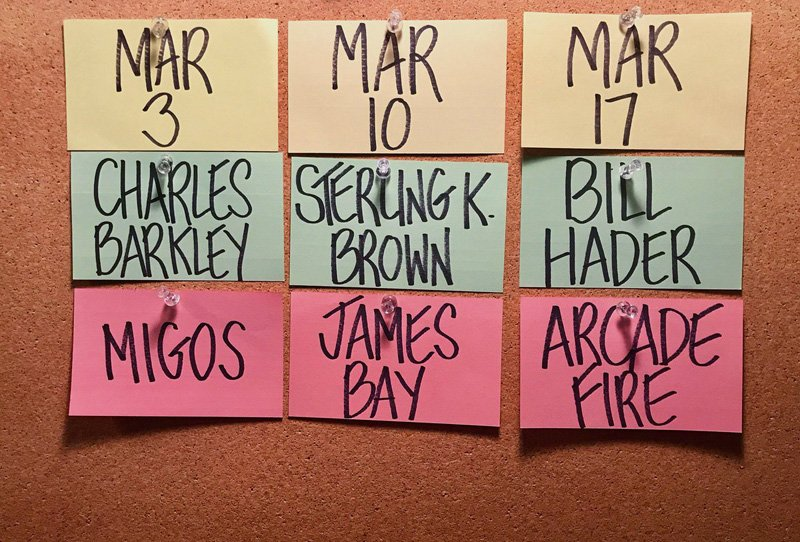 Sterling K. Brown, Bill Hader and Charles Barkley Host SNL in March