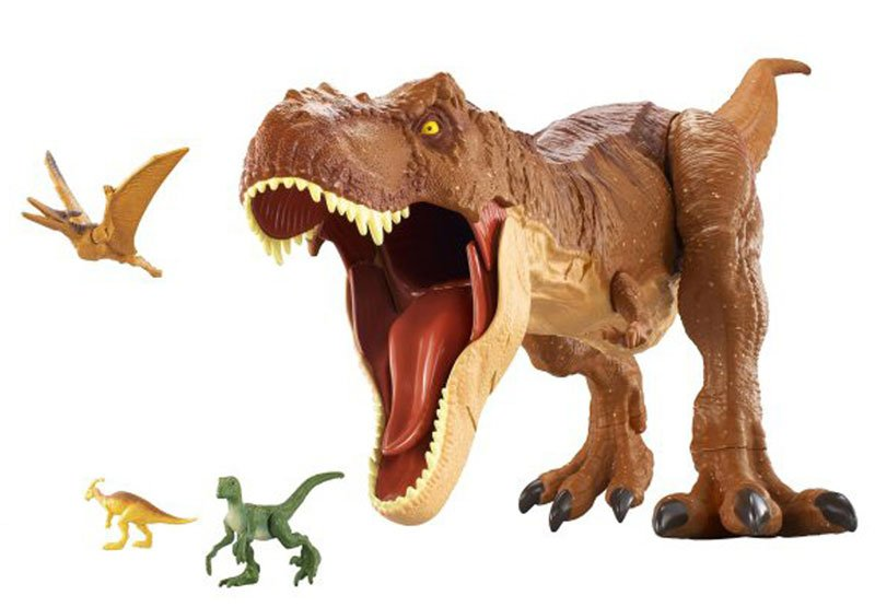 Mattel's Jurassic World: Fallen Kingdom Toys Revealed