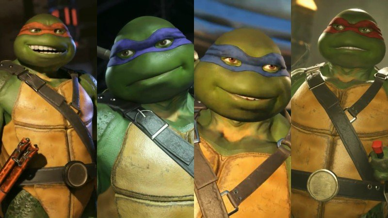Injustice 2 TMNT Gameplay Video Released