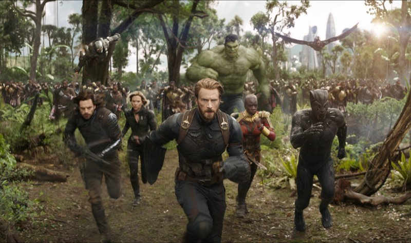 Peter Parker Joins His Avenger Dads In Intense New Infinity War Trailer